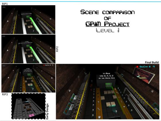 Level 1 - Scene Comparison