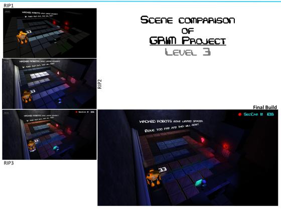 Level 3 - Scene Comparison