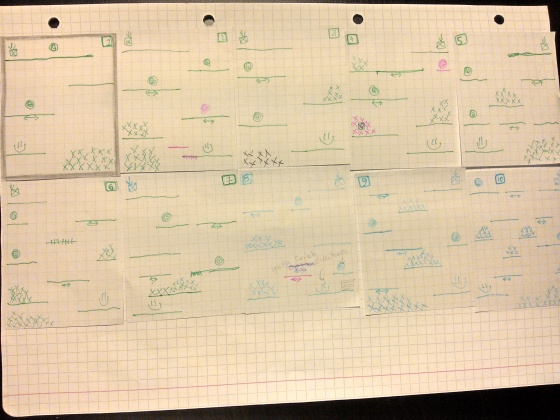 Paper prototyping [1] Levels (1 - 10)